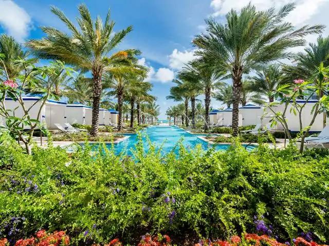Reflections Pool, Grand Hyatt Baha Mar, Nassau, The Bahamas