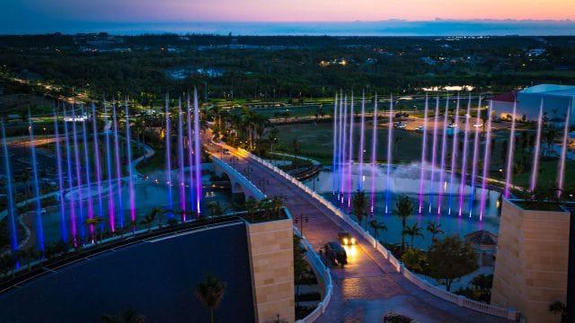 Fountain Purple, Grand Hyatt Baha Mar, Nassau, The Bahamas