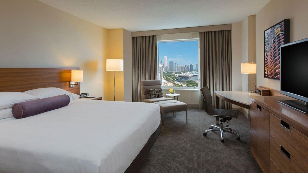 Guest Room, Hyatt Regency McCormick Place, Chicago, Illinois