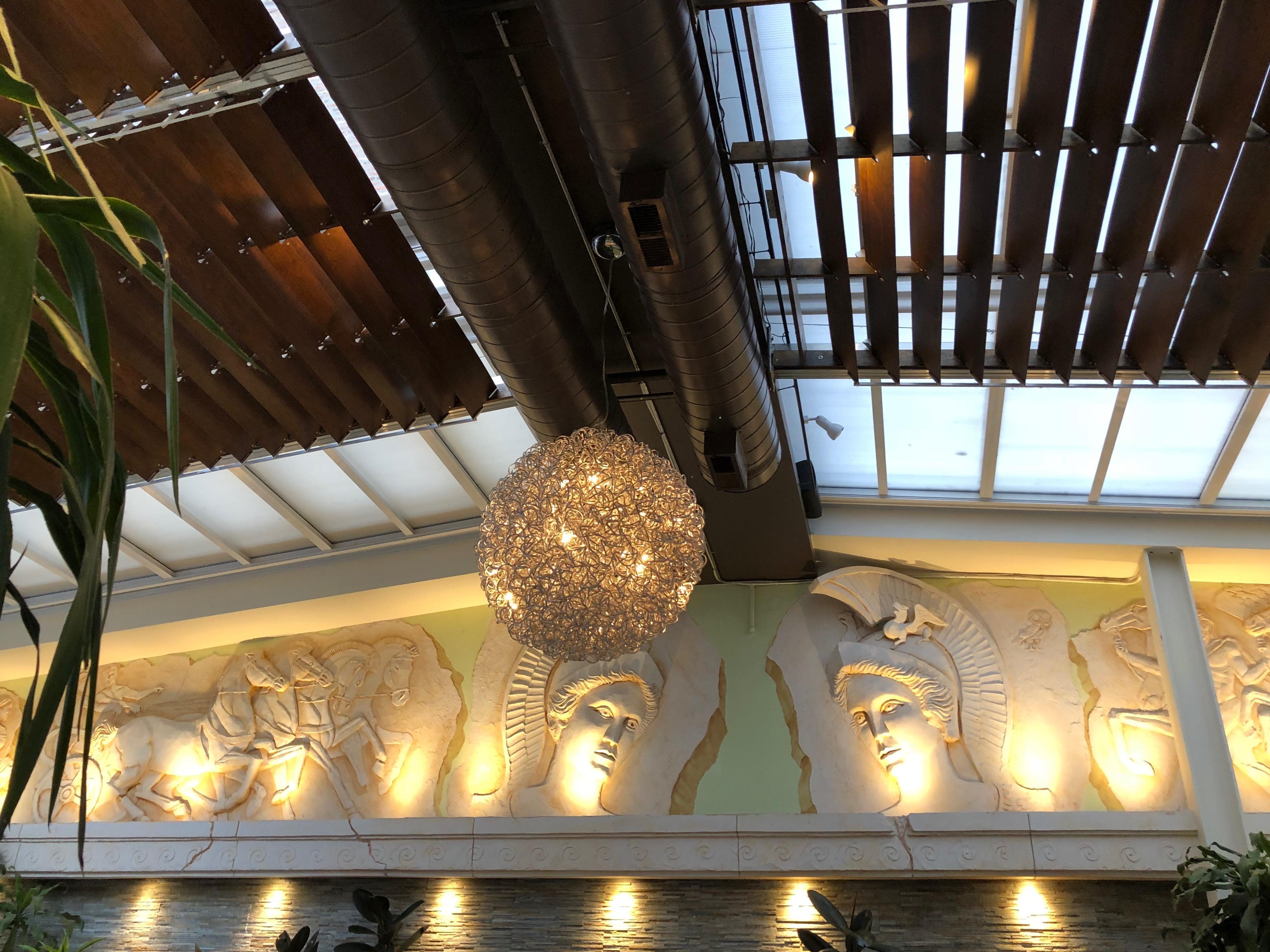 Interior, Athena Restaurant, Greektown, Chicago, Illinois