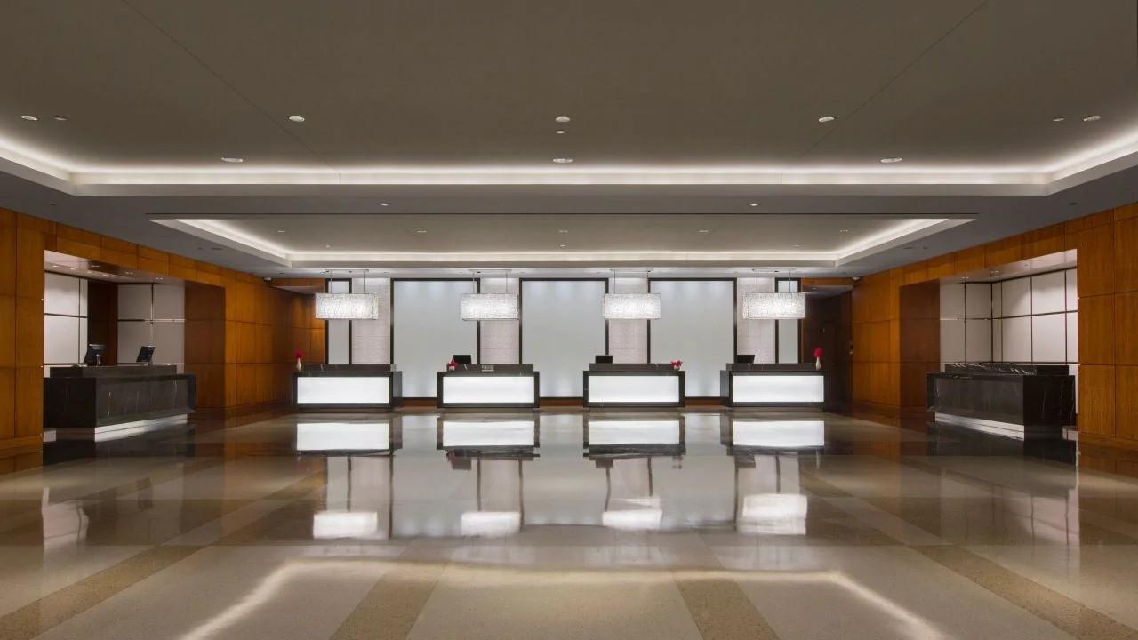 Lobby, Hyatt Regency McCormick Place, Chicago, Illinois