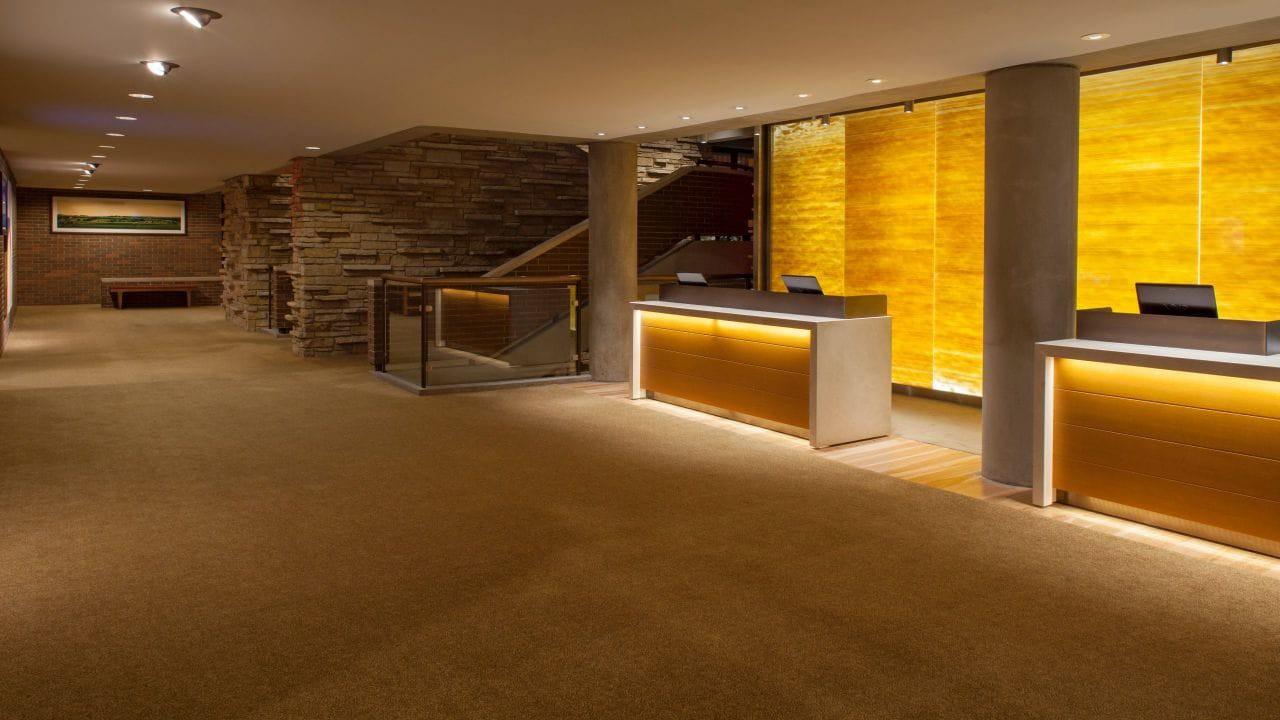 The Lobby at the Hyatt Lodge at McDonald's Campus, Oak Brook, Illinois