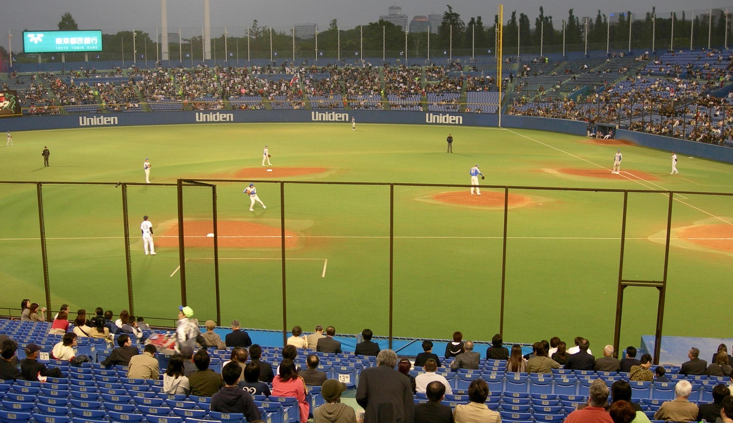 Tokyo Yakult Swallows, Meiji Jingu Stadium, Tokyo, Japan